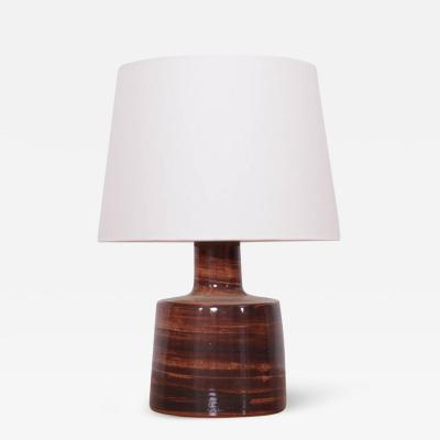 Gordon Martz Stoneware Table Lamp by Gordon Martz for Marshall Studios Inc n 105 Brown