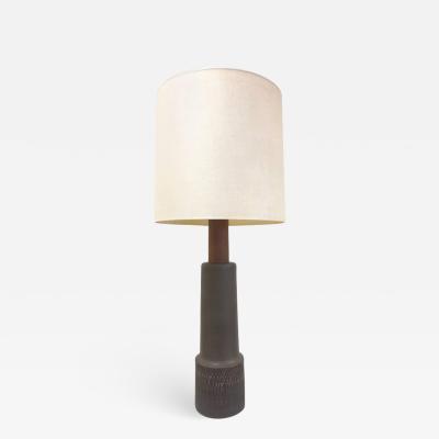 Gordon Martz Tall Gordon Martz Ceramic Lamp