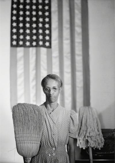 Gordon Parks American Gothic Washington D C