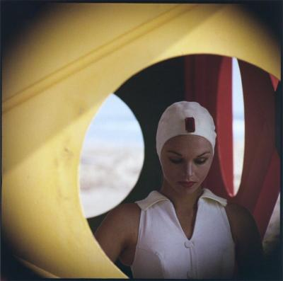 Gordon Parks Jeweled Cap Malibu California 1958