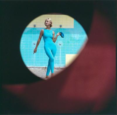 Gordon Parks Skin tight Suit Malibu California 1958