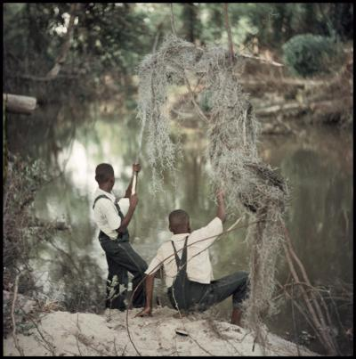 Gordon Parks Untitled Shady Grove Alabama Boys Fishing 37 048 1956