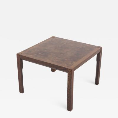 Gorm Lindum Scandinavian Modern Teak Coffee Table by Gorm Lindum for Tranek r