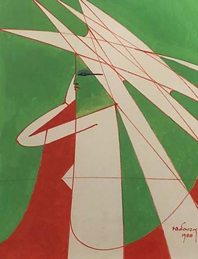 Gouache by Albert Radoczy 4