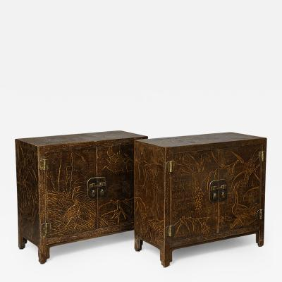 Gracie Pair of Cabinets