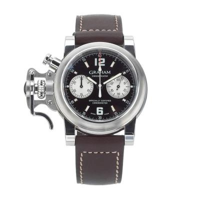 Graham Graham Stainless Steel Chronofighter Chronograph Automatic Wristwatch