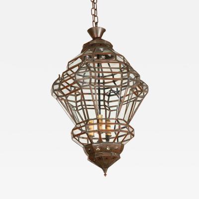 Granada Style Moroccan Clear Glass Pendant