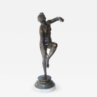 Grand Tour Bronze Sculpture of Aphrodite