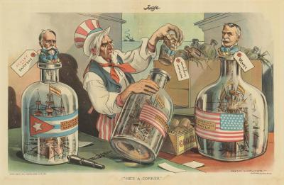 Grant Hamilton A satire of the Spanish American War of 1898 Hes a Corker