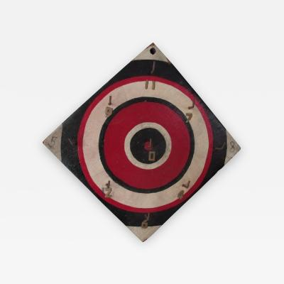Graphic Bulls Eye Ring Toss Game Board