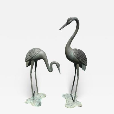 Great Blue Heron Bronze