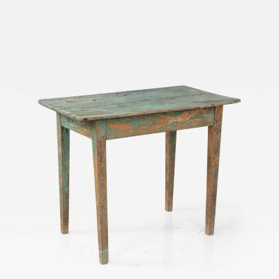 Green Small Side Table