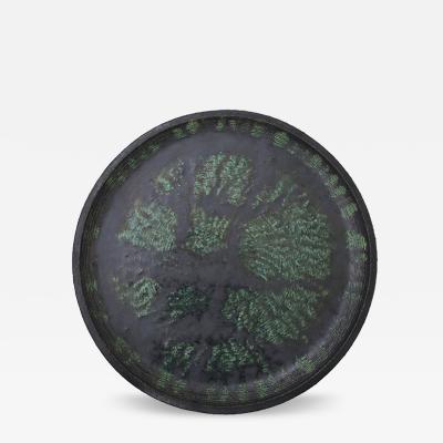 Green Stoneware Dish