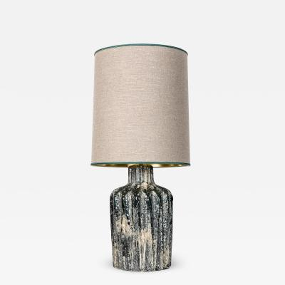 Green stone lamp