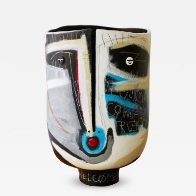 Gregoire Devin Unique Vase Sculpture by Atelier Dalo artist Gregoire Devin