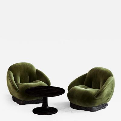 Gregory Emvy A pair of armchairs