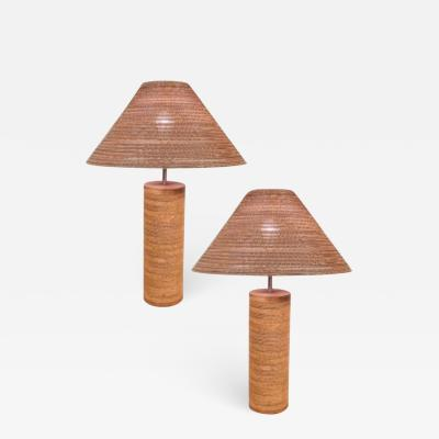 Gregory Van Pelt Corrugated Paper Lamps