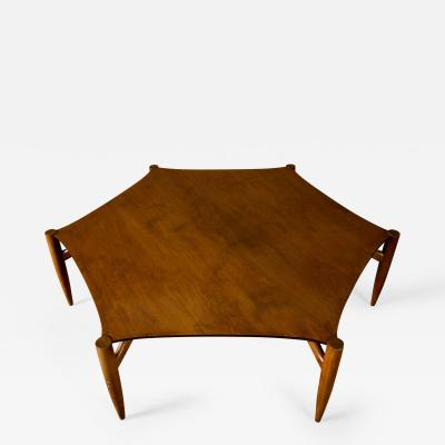 Greta Grossman Greta Grossman Hexagonal Coffee Table