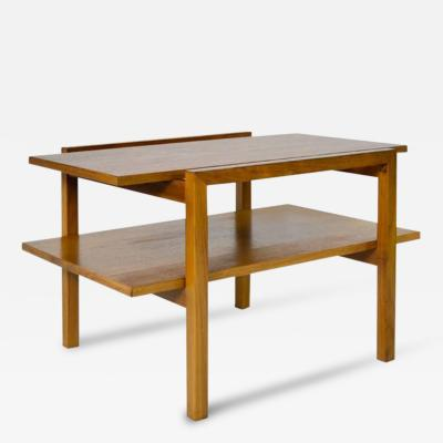 Greta Grossman Walnut Occasional Table by Greta Grossman
