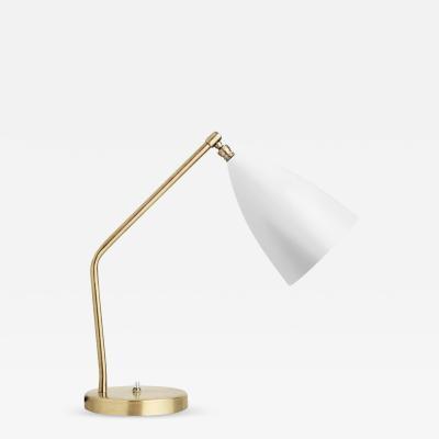 Greta Magnussen Grossman Greta Magnusson Grossman Grasshopper Table Lamp in White