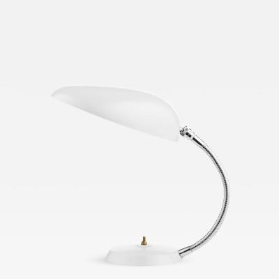 Greta Magnusson Grossman Greta Magnusson Grossman Cobra Table Lamp in White