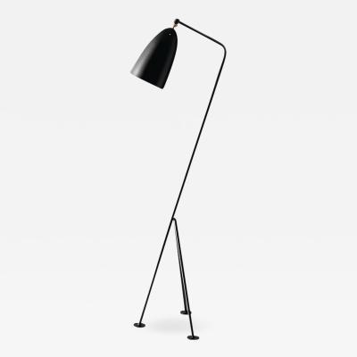 Greta Magnusson Grossman Greta Magnusson Grossman Grasshopper Floor Lamp in Black