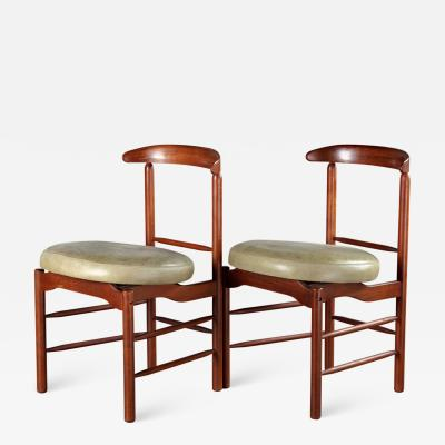 Greta Magnusson Grossman PAIR OF GRETA GROSSMAN DINING CHAIRS