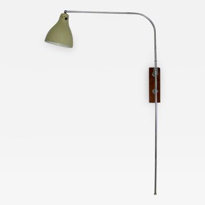 Greta Von Nessen Greta Von Nessen Adjustable Swing Arm Wall Lamp