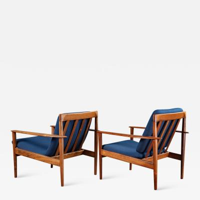 Grete Jalk GRETE JALK PAIR OF ARMCHAIRS