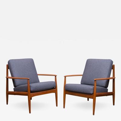Grete Jalk Greta Jack Lounge Chairs