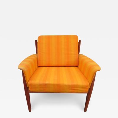 Grete Jalk Outstanding Grete Jalk Teak Lounge Chair Midcentury Danish Modern