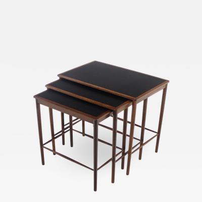 Grete Jalk Rare Scandianvian Modern Nesting Tables Designed by Grete Jalk