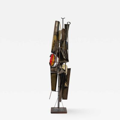 Gruppo NP2 Gruppo NP2 Abstract Metal Sculpture Italy 1966