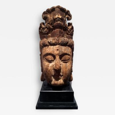 Guan Yin Head Late Ming Early Ching Dynasty