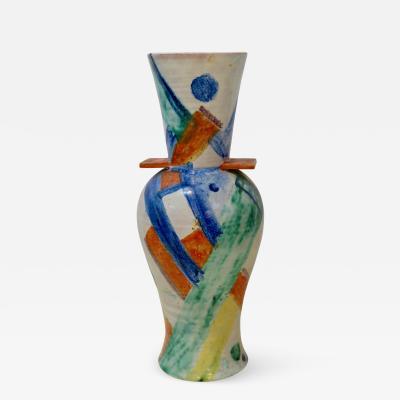 Gudrun Baudisch Wiener Werkst tte Ceramic Vase by Gudrun Baudisch