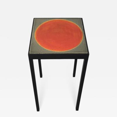 Gueridon Group Baby Side Table with Roger Capron Tile s