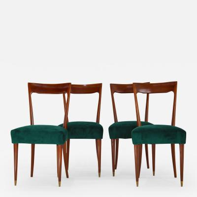 Guglielmo Ulrich Dining Chairs by Guglielmo Ulrich 1940s Set of 4