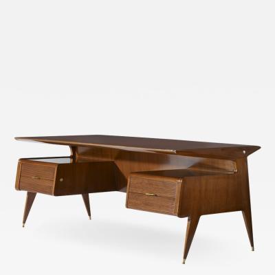 Guglielmo Ulrich Guglielmo Ulrich splendid 1950s desk manufactured by Arredamenti Casa