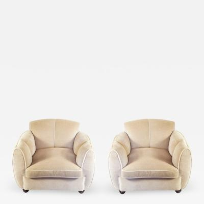 Guglielmo Ulrich Pair of armchairs by Guglielmo Ulrich