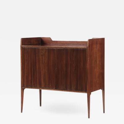 Guglielmo Ulrich Unique Italian sideboard with grinded concave front