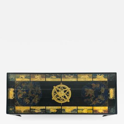 Guglielmus Blaeuni Scagliola Policromia coffee table from 1731