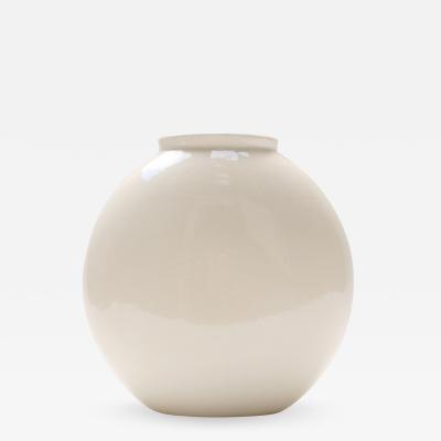 Guido Andlovitz White 1316 Vase for S C I Laveno 1948