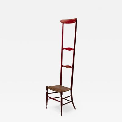 Guido Chiappe Altissima Campanino Chair by Guido Chiappe