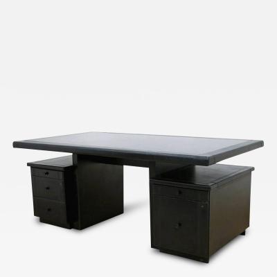 Guido Faleschini Guido Faleschini for Mariani Pace Leather and Granite Executive Desk