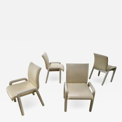 Guido Faleschini Set of Four Guido Faleschini Dilos Dining Chairs by i4 Mariani for Pace