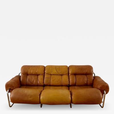Guido Faleschini Tucroma Leather Sofa by G Faleschini