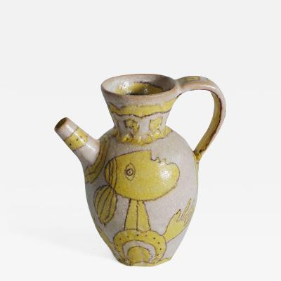 Guido Gambone Figurative Gambone Pitcher