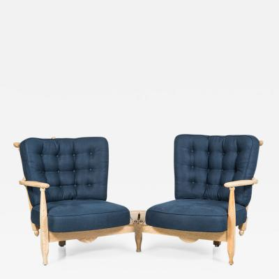 Guillerme et Chambron Guillerme Et Chambron Two Seat Settee France 1940s