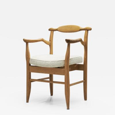 Guillerme et Chambron Guillerme et Chambron Bridge Fumay Dining Chair for Votre Maison France 60s