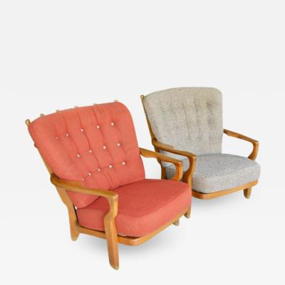 Guillerme et Chambron Guillerme et Chambron Pair of Armchairs